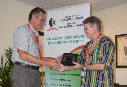 Stalwart retires after 15 years training plant breeders